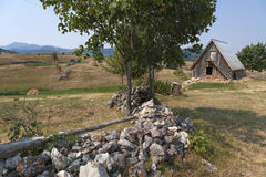 Old farmhouse Royalty Free Stock Images