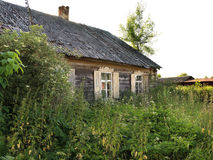 Old farmhouse i summer day Stock Photos
