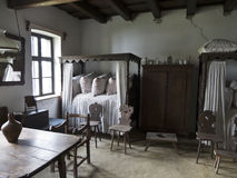 Old farmhouse interior Royalty Free Stock Photos