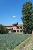 Old farmhouse near Pavia (Italy) Stock Photo