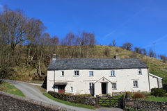 Old farmhouse near River Lune at Lowgill, Cumbria Royalty Free Stock Photo