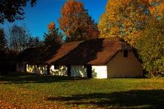 Old farmhouse. At Open Air Museum north of Copenhagen, Denmark Stock Photos