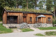 Old Farmhouse from Orlandet Stock Image