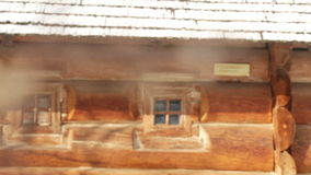 Old farmhouse stock footage