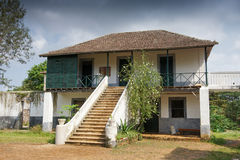 Old farmhouse, Sao Tome and Principe, Africa Royalty Free Stock Photography