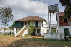 Old farmhouse, Sao Tome and Principe, Africa Stock Photo