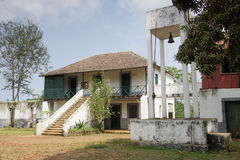 Old farmhouse, Sao Tome and Principe, Africa Stock Images