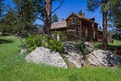 Old farmhouse in South Dakota Royalty Free Stock Photo
