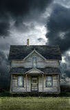 Old Farmhouse Stormy Sky Royalty Free Stock Image