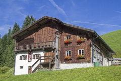Old farmhouse in Tyrol Royalty Free Stock Image