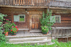 Old farmhouse, wilder Kaiser, Tirol, Austria Royalty Free Stock Photos