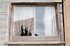 Old Farmhouse Window Royalty Free Stock Photo