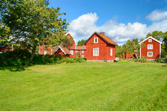 Old farmhouses Royalty Free Stock Photography