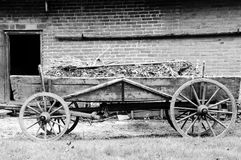 Old Farming Chariot Stock Photos