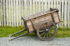 Old Farming Chariot Royalty Free Stock Image
