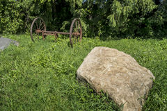 Old farming equipment Stock Images