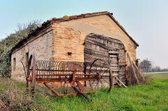 Old farming hut Royalty Free Stock Photo