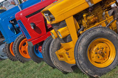 Old Farming Line Up Royalty Free Stock Photo
