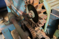 Old farming machinery Stock Photo