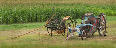 Old Farming Machinery Royalty Free Stock Photo