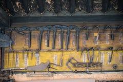 Old farming tools. Korea's traditional smithy royalty free stock photos