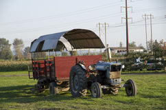 Old farming truck at farm Royalty Free Stock Image