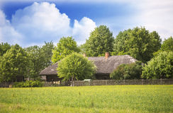 Old Farmland house, Lithuania Stock Photography