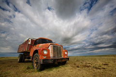 Old Farmtruck Royalty Free Stock Photos