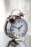 Old fashion alarm clock Stock Photos