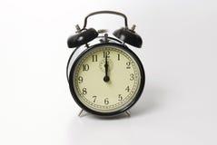 Old fashion alarm clock ringing royalty free stock photography