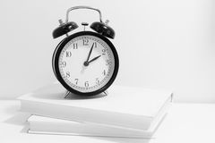 Old fashion alarm clock Stock Photography