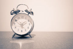 Old fashion alarm clock Stock Photos