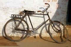 Old fashion bike Stock Photography