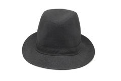 Old fashion black hat Royalty Free Stock Photo