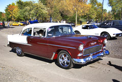 Old fashion car show Royalty Free Stock Photo