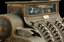 Old Fashion Cash Register Stock Images