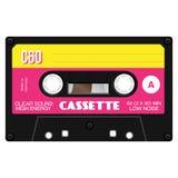 Old fashion cassette tape vector illustration