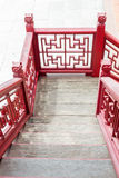 Old fashion Chinese stlye staircase Stock Images