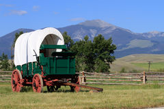Old fashion chuck wagon. Stock Images