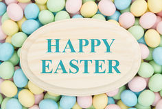 Old fashion Easter greeting Stock Images