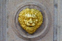 Old fashion golden lion Royalty Free Stock Photos