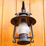 Old-fashion lamp Stock Image