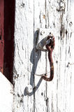 Old Fashion Latch Stock Photography