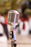 Old fashion microphone Royalty Free Stock Photos