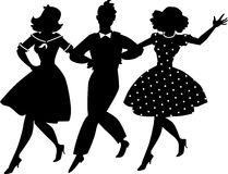 Old-fashion musical clip-art Stock Photography