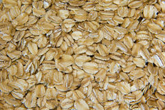 Old Fashion Oats. Close up picture of Old Fashion Oats Stock Photos