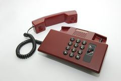 Old fashion phone Royalty Free Stock Photos