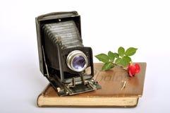 Old fashion photo album. Stock Photo