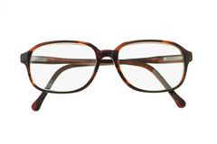 Old fashion plastic rim spectacles Royalty Free Stock Photos