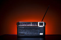 Old Fashion Radio Stock Image